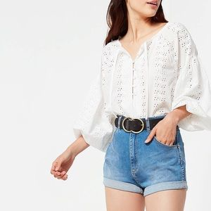 🔥UO PIN UP wrangler shorts